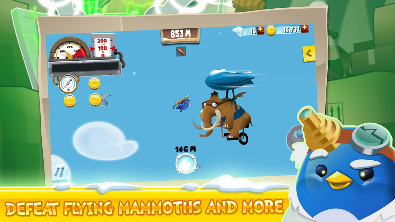 learn 2 fly the most popular and crazy penguin is back in a free